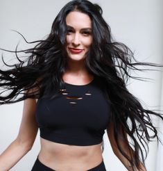 Obsessed with my that put in at She's absolutely amazing! And love this salon! Wwe Total Divas, Wwe Divas, Bella Sisters, Nikki And Brie Bella, Obsessed With Me, Women's Wrestling, Wwe Photos, Professional Wrestling, Supergirl
