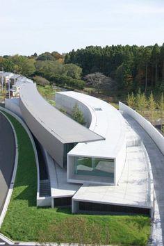結構魔力Case Study》浮游空中的懸臂藝廊─ホキ美術館 @ 綠‧建築家 :: searchouse.net
