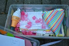 birthday time capsule - great for first birthday but could be used for any special occasion.