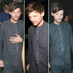 Louis leaving warwick nightclub last night (16.11.16)