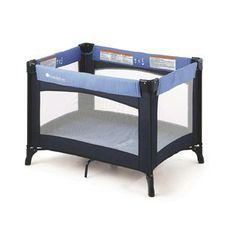 Foundations Celebrity Portable Crib  - Blue at Sears.com