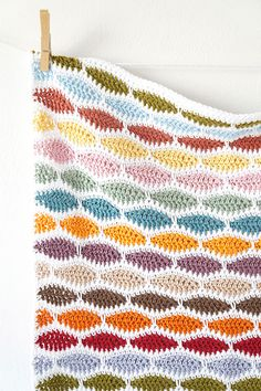 Bertie Baby Blanket crochet by Little Doolally