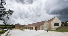 Bernard Quirot architecte + associés, Luc Boegly · Maison de santé à Vézelay · Divisare