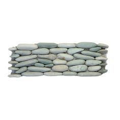 Solistone Standing Pebbles Cypress 4 in. x 12 in. Natural Stone River Rock Wall Tile-3006 at The Home Depot