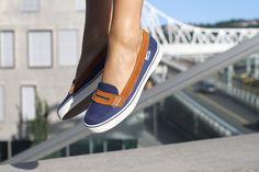 Noodles - Tiki navy Vans Classic Slip On, Noodles, Women's Shoes, Navy, Sneakers, Fashion, Macaroni, Hale Navy, Tennis