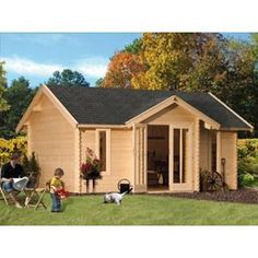 chalets mezzanine 70mm abris de jardin garages et chalets pinterest cabanes. Black Bedroom Furniture Sets. Home Design Ideas