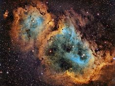 The Soul Nebula IC1848 Hubble Palette (Flickr - Photo Sharing!)