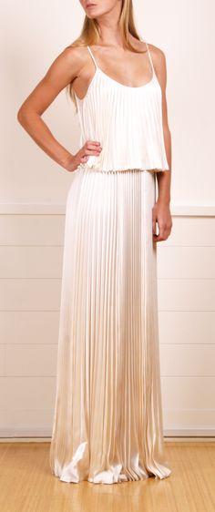 HALSTON HERITAGE DRESS @Michelle Flynn Coleman-HERS