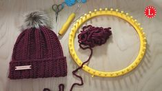 You can access more content by visiting the site. Have fun. A step by step video tutorial for a cozy, chunky easy rib stitch hat pattern. It is a beginner project that can be done quickly. Best of all, its unisex. Loom Knitting Stitches, Knifty Knitter, Loom Knitting Projects, Yarn Projects, Easy Knitting, Knitting Machine, Round Loom Knitting, Sewing Projects, Loom Crochet