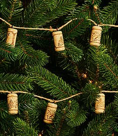 Trimsetter Cheers Collection Wine Cork Jute Garland #Dillards