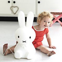 MIFFY Lampe à poser lapin blanc H50cm   Luminaire enfants Mr Maria
