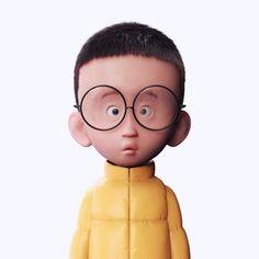 The Little Brats, Pizza Chen on ArtStation at https://www.artstation.com/artwork/B6X9k