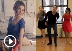 "Group tap dance set to Anna Kendrick's ""Cups"" song from 'Pitch Perfect.'"