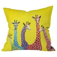 Giraffes Pillow.