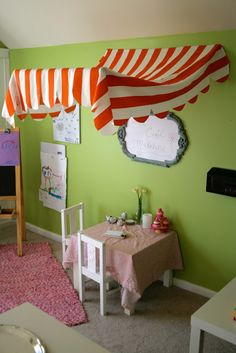 Remodelaholic | Imagination Station! Kids Play Room