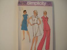 Simplicity 6232 size 16 Uncut by KalimahsKreationsLLC on Etsy #vogueteam