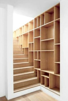 stairs with storage | Magpie & Squirrel