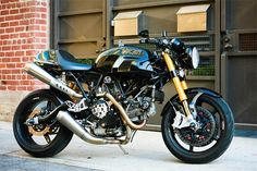 Ducati Sport 1000 custom — Designspiration