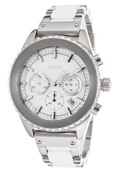 DKNY Women's Silver Analog Watch NY8764 ewatchesusa.com