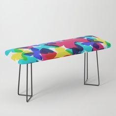 Butterflies Bench by beebeedeigner Types Of Furniture, Furniture Design, Interior Decorating, Interior Design, Contemporary Decor, Butterflies, Bench, Decor Ideas, Decoration