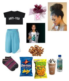 """""""with Matt espinosa"""" by queentiamarie ❤ liked on Polyvore featuring Alfani, Vera Wang and By Emily"""