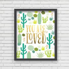 With an effortless modern style, Lucy Darling offers a high-quality metallic gold art print designed to help celebrate the darling moments of a baby's life. • Perfect Nursery Wall Decor! • Great baby