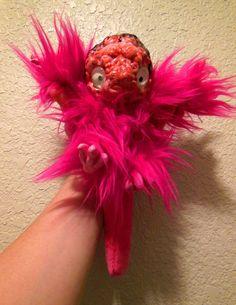 Brain Pet pink by Zombiehun on Etsy
