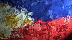 Phillipines Flag by ~magnaen on deviantART Images Wallpaper, Original Wallpaper, Colorful Wallpaper, Wallpapers, Flag Background, Textured Background, Philippine Flag Wallpaper, Spotted Wallpaper, Baybayin