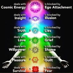 There are 7 main energy centers in the body, known as chakras. Each chakra is located throughout our body so that it correlates to specific body ailment and physical dysfunctions; each energy center also houses our mental and emotional strengths. When we have a physical issue, it... #chakras