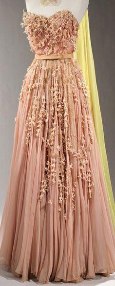 Evening dress.1955. Sophie Gimbel (American, Houston, Texas 1898–1981 New York)
