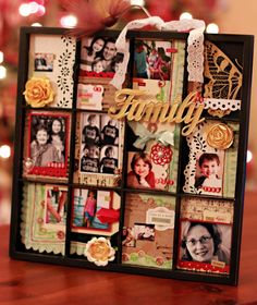 Family Printer's Tray *Work in Progress Kits* - Two Peas in a Bucket