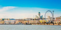 Panorama Of Embankment In Helsinki At Summer Sunset Evening, Sunrise Morning, Finland. Helsinki, Oslo, Spas, Stockholm, Cheap Flights To Europe, Stay In A Castle, City Pass, Wanderlust, Summer Sunset