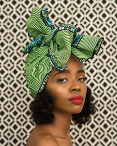 "2,308 Likes, 26 Comments - The Wrap Life ™ (@thewraplife) on Instagram: ""Hey gorgeous girl. Meet our Ama head wrap. The perfect combo of green and blue. (Very limited…"""