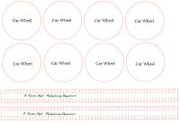 My Craft and Garden Tales: Template for a paper vintage car