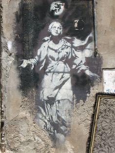 Street Art, Napoli, Italia