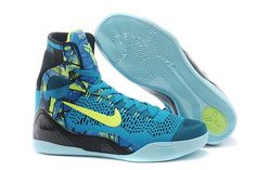 best website 0bc57 c6986 ... black blue yellow. See more. Nikes Kobe 9 Elite High-Top Perspective  Neon Turquoise Volt shoes Jordan Shoes, Air