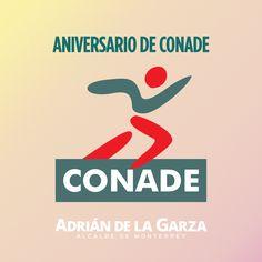 Cumple años de la creación de la Comisión Nacional de Cultura Física y Deporte (CONADE). Trabajaremos con ellos para fomentar las actividades físicas, recreativas y deportivas que fortalezcan el desarrollo social y humano de nuestra gran ciudad