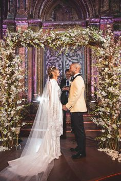 American Idol alum Pia Toscano tied the knot with her beau, Jimmy R. O. Smith, in New York City on January 7th. The bride and groom were originally introduced to each other through pop sensation Jennifer Lopez, as they both worked and performed with her during her Las Vegas residency. In a pre-wedding interview with Inside Weddings, Pia told us that her family was an integral part of the planning process, which she clearly meant – she included both her sister and her godmot...
