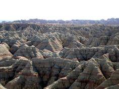 Black Hills Badlands | Established as Badlands National Monument in 1939, the area was ...