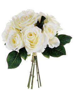 Cream Rose Bouquets | Silk Wedding Flowers | Afloral