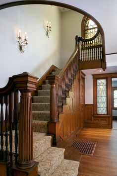 traditional carpeted staircases - Google Search
