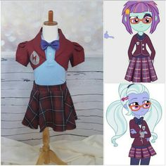 Crystal Prep Outfit  https://www.etsy.com/listing/275878214/crystal-prep-school-uniform-jacket-skirt