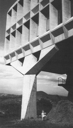 Marcel Breuer. IBM Research Complex, La Gaude, France - 1961.