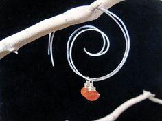 cool spiral earrings