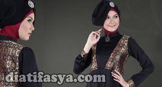 ... tetap trendy, baju wanita muslim terbaru 2015 ini menjadi pilihan