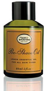 The Art of Shaving Lemon Pre-Shave Oil