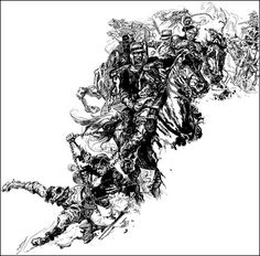 joseph clement coll | Great Pen & Ink: 5 Joseph Clement Coll