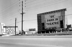 Drive Inn Theater, ours had two screens. Plitt Twin, in Edinburg Texas. Showed 2 movies in each. After it was torn down, we got a Walmart, and many other businesses.