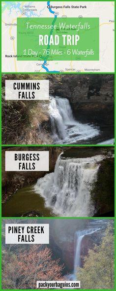 Tennessee Waterfalls Road Trip |Burgess Falls State Park | Tennessee Road Trip | Tennessee Waterfalls Road Trip | Cummins Falls State Park | Rock Island State Park | Great Falls Rock Island | Twin Falls Rock Island | Fall Creek Falls State Park | Piney Creek Falls | Waterfalls hike | Pack Your Baguios | USA Road Trip