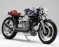 moto guzzi le mans kaffeemaschine KM17 custom motorcycle designboom